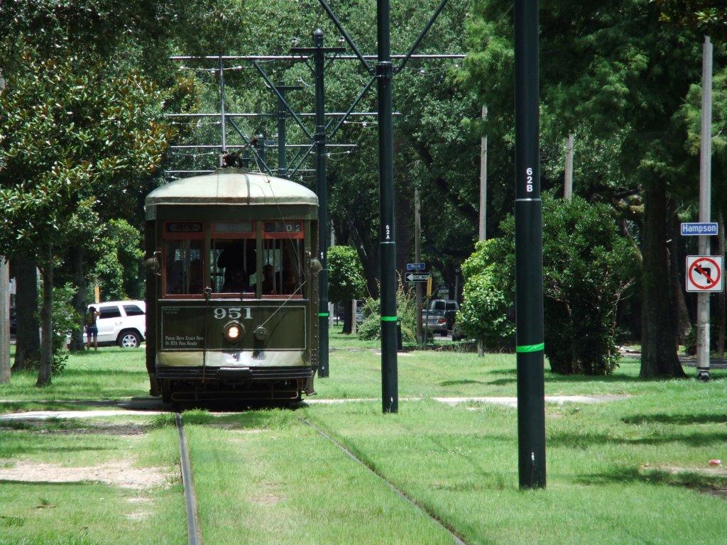 北米最古の路面電車 ルイジアナ州 ニューオリンズ