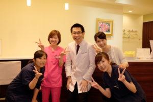 Shimizu Dental Clinic スタッフ集合写真