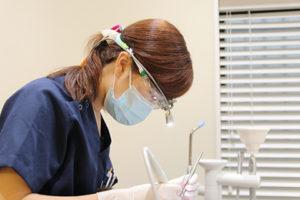 予防歯科をする衛生士