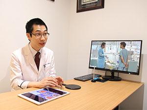 検査結果の説明と治療の説明