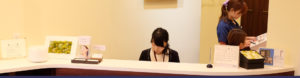 Shimizu Dental Clinicの受付