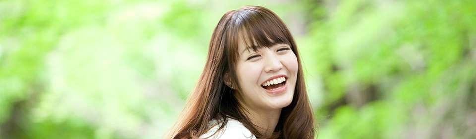 矯正歯科による笑顔