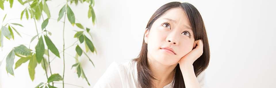 歯周病に悩む女性