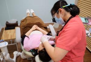 フッ素とカルシウムで初期虫歯を予防