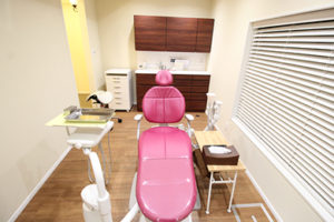 全室個室の歯科診療室